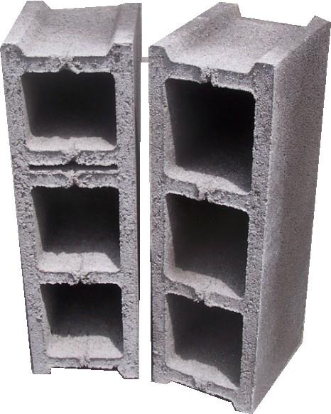 Les blocs 15x20x50 3 alvéoles pour mur intérieur porteur